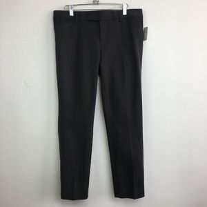 NWT Gap 1969 Gray Slim Cropped Flat Front Pants